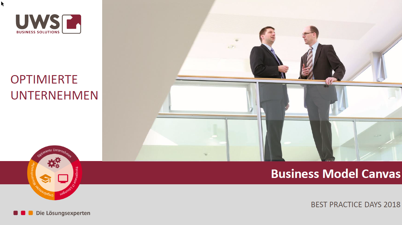 UWS - Workshop Business Model Canvas